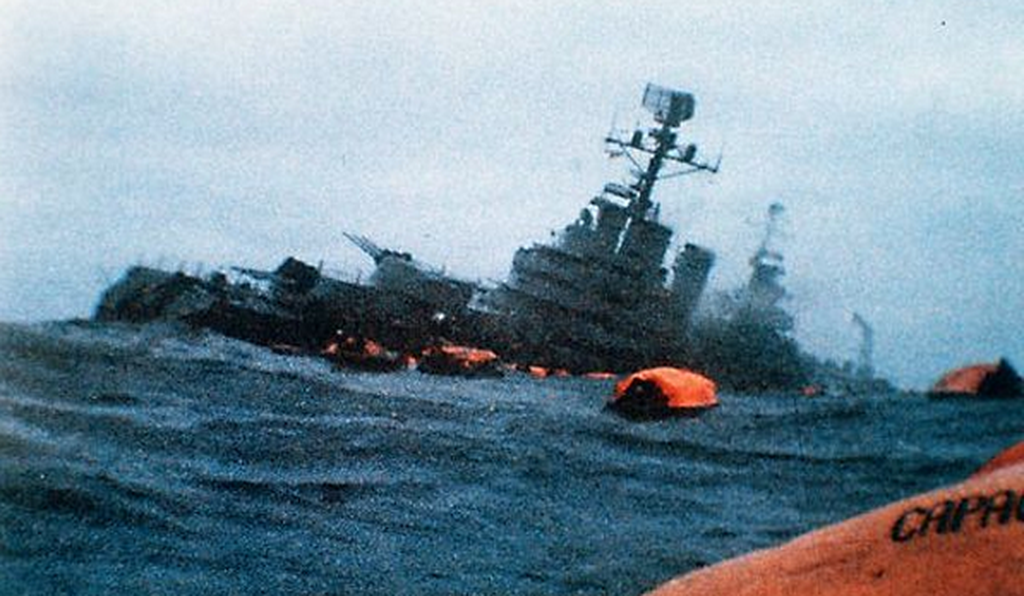 The sinking of the <em>General Belgrano</em> was arguably the most controversial episode of the Falklands War.