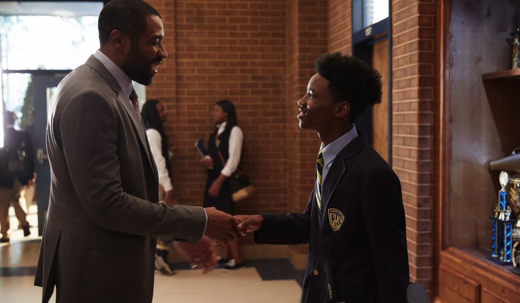 By day, protagonist Jefferson Pierce is a dedicated high school principal.