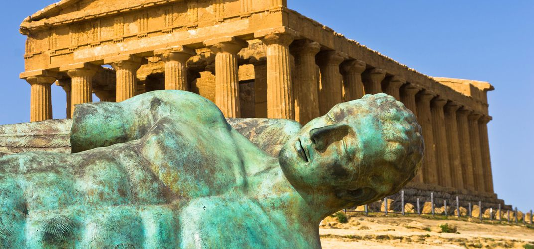 Temple of Concord, Agrigento, Sicily