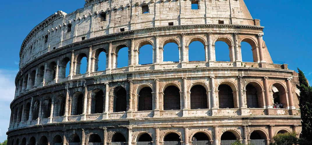 The legendary Roman Colosseum