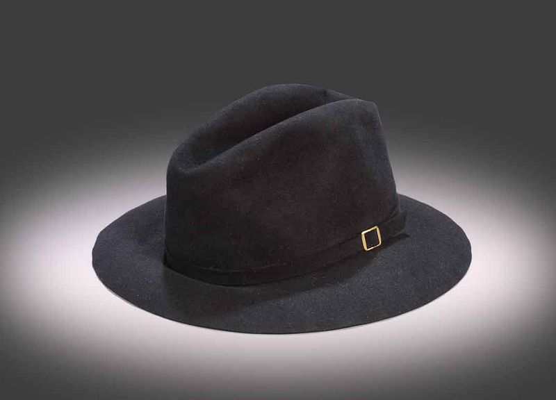 42ccc760753d5d Michael Jackson's signature fedora he wore for his 1984 six-month Victory  tour. (NMAAHC)