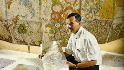 Geological mapping of another world