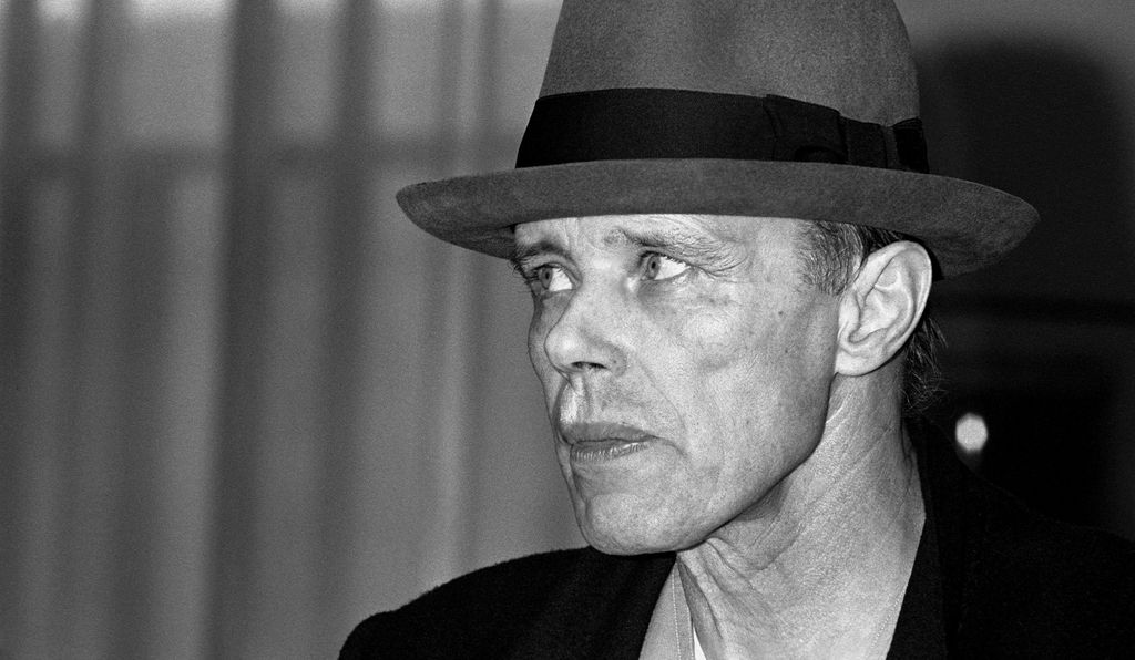 "Joseph Beuys (above, in 1985) envisioned art as ""social sculpture""—a means to shape society, as classical sculptors shaped stone."
