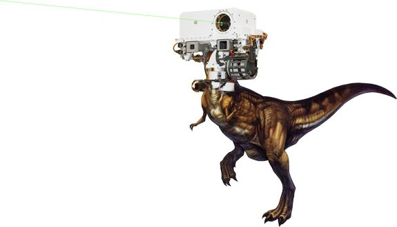 ChemRex, the only thing that could possibly make Curiosity's ChemCam any cooler.