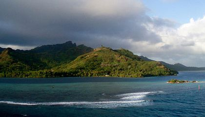 Prospero's Island in the South Pacific