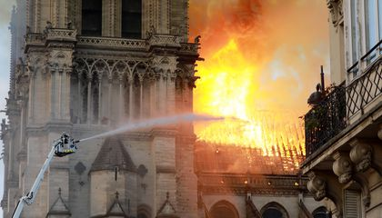 Historic Notre-Dame Cathedral Salvaged From Blaze