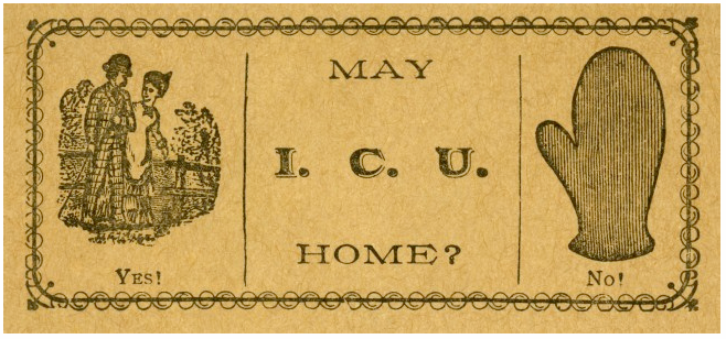 Instead Of Cheesy Pickup Lines 19th Century Americans Gave Out Calling Cards Smart News Smithsonian Magazine