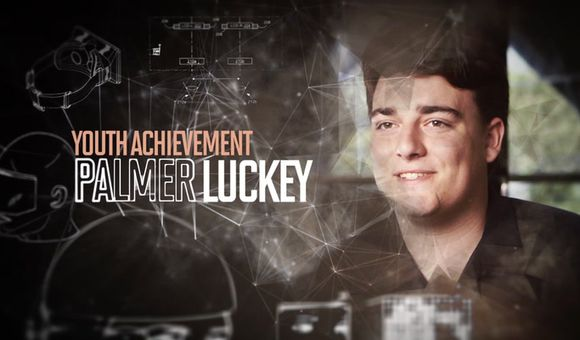 Preview thumbnail for video'Smithsonian Ingenuity Awards 2014: Palmer Luckey