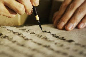 Traditional Calligraphy and Contemporary Art