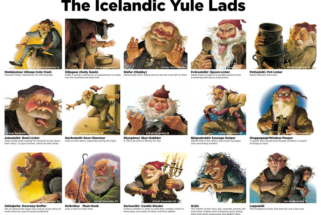 Meet The Thirteen Yule Lads Iceland S Own Mischievous Santa Clauses Smart News Smithsonian Magazine