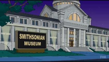 The Simpsons Break Into the Smithsonian