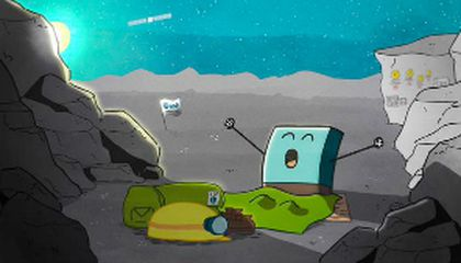 Rise and Shine, Comet Lander blog image