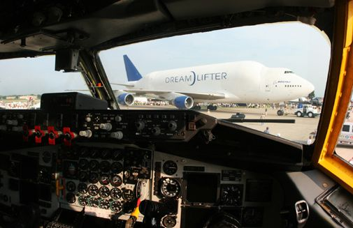 The Dreamlifter makes an appearance at Oshkosh.
