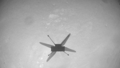 NASA's Ingenuity Helicopter Soars 2,000 Feet Through Martian Atmosphere in Its Ninth Successful Test Flight
