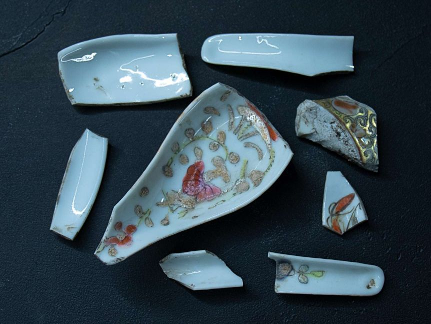 Ceramic shards