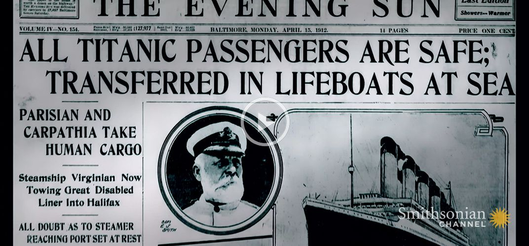 Caption: How the Titanic Sinking Became Fake News