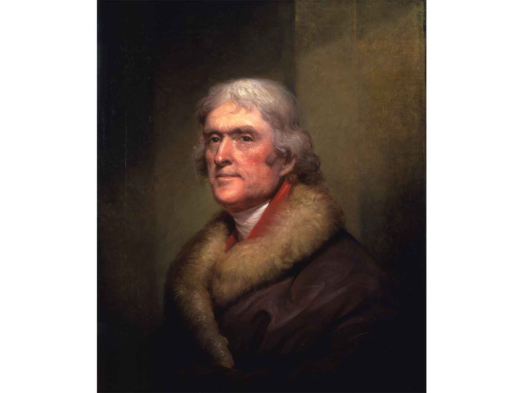 Jefferson by Rembrandt Peale