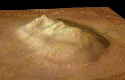 A revealing new view of the famous Face on Mars.