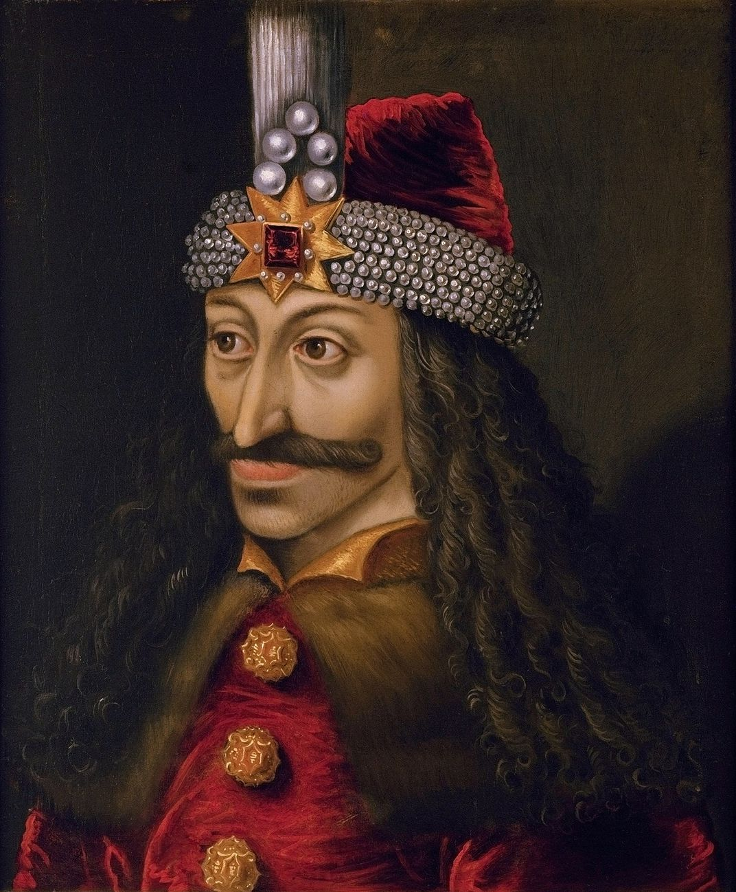Painting of Vlad the Impaler