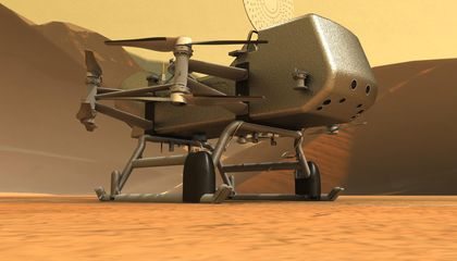 Dragonfly Is the First Aircraft Built for the Outer Solar System