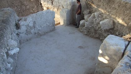 "Archaeologists Find Gate to Headquarters of Famed ""Ironclad"" Sixth Legion in Northern Israel"