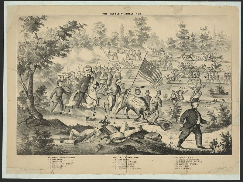 a history of the battle of bull run The first battle of bull run (also known as the first manassas) was fought on july 21, 1861 it was the first major battle of the civil war and.