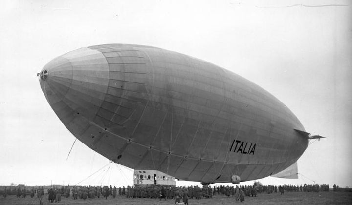 The Ill-Fated Arctic Airship
