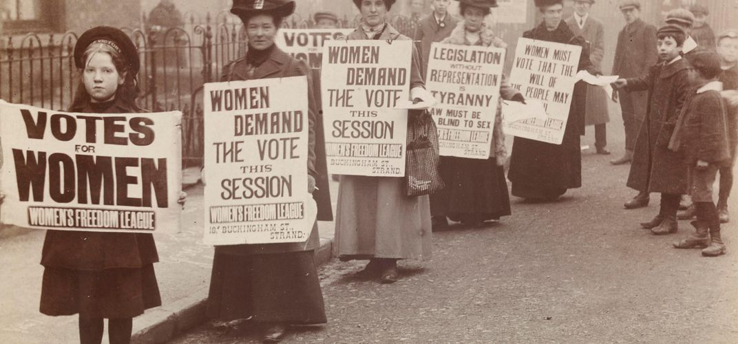 Caption: Stories of Forgotten Suffragettes Come Alive in New Exhibition