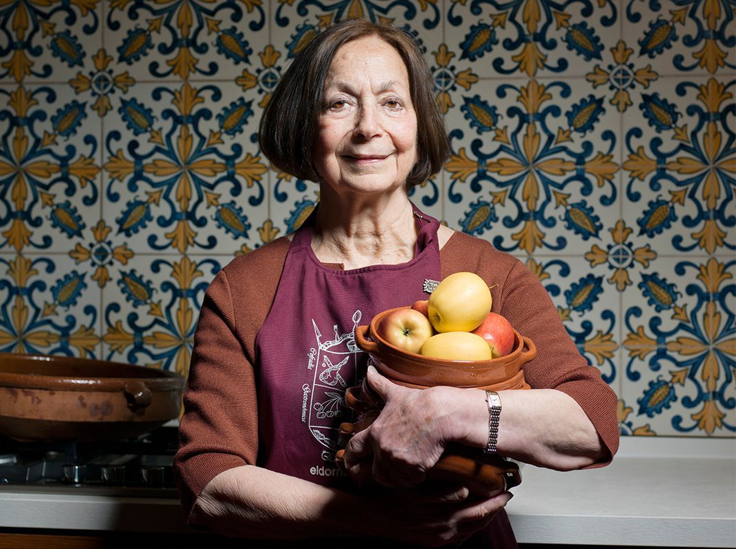 Celebrated Middle Eastern Food Writer Claudia Roden Shares Stories