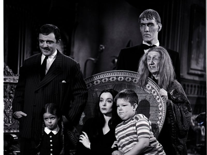 Cast of 'The Addams Family'