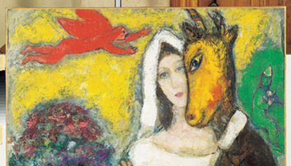 The Elusive Marc Chagall