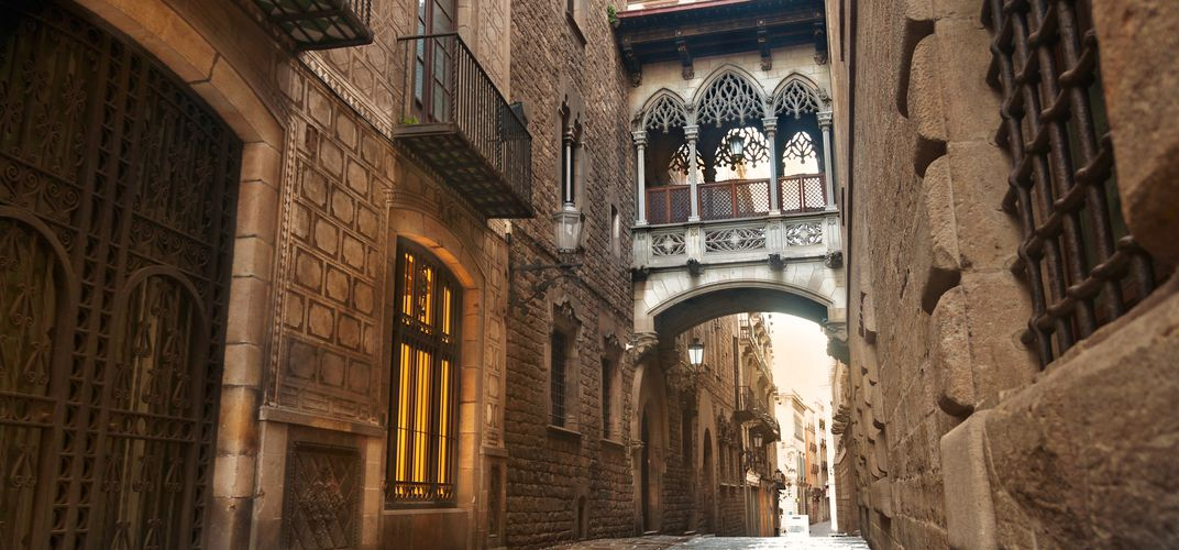 The Gothic Quarter of Barcelona
