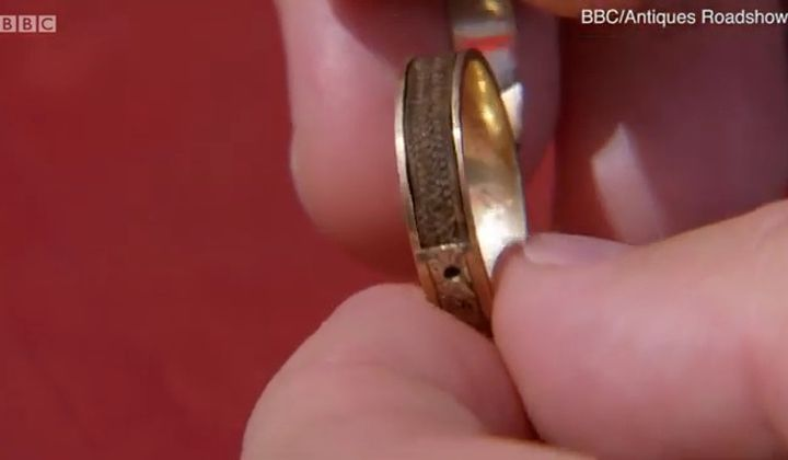 Ring Containing Charlotte Brontë's Hair Discovered