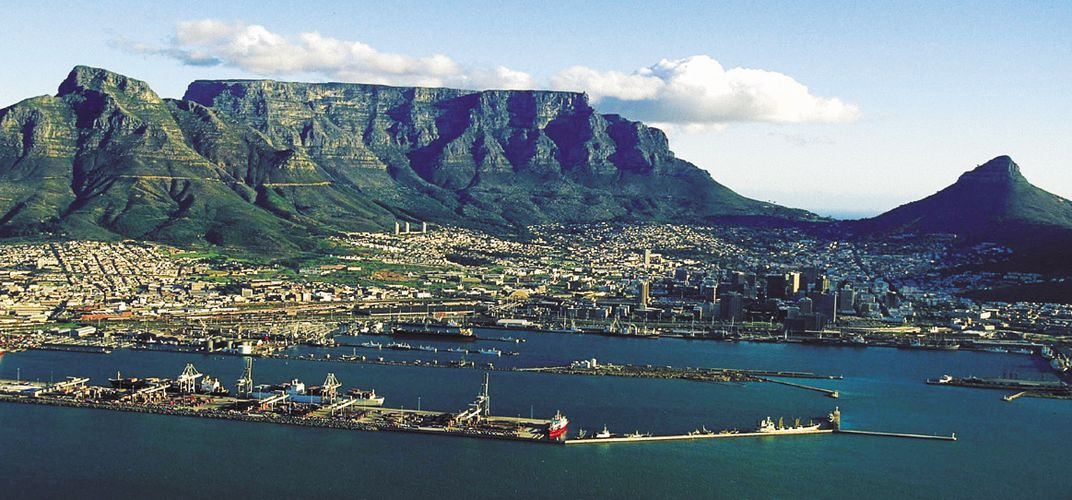 A panorama of Cape Town