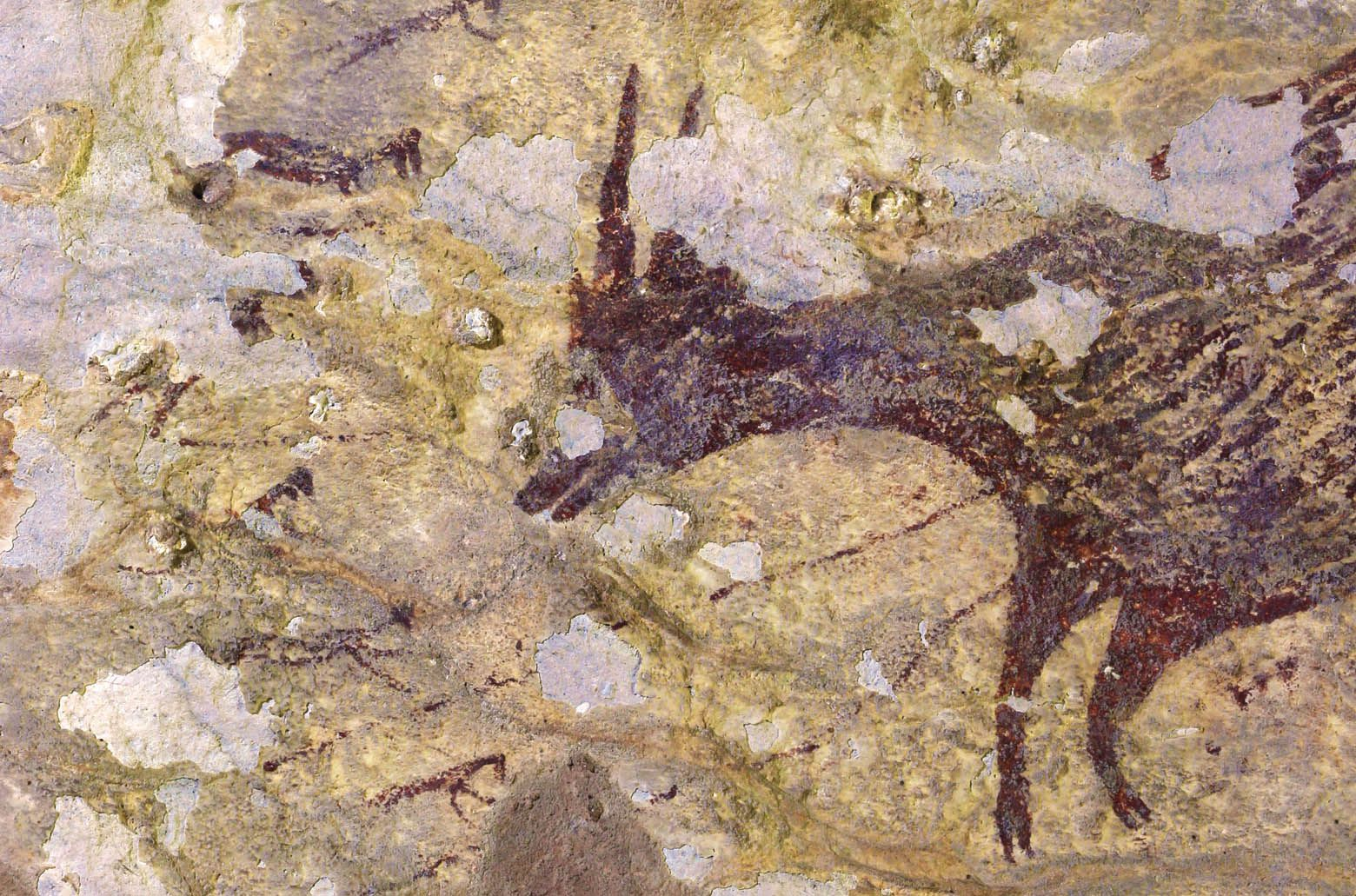 Newly Discovered Indonesian Cave Art May Represent World S Oldest Known Hunting Scene Smart News Smithsonian Magazine