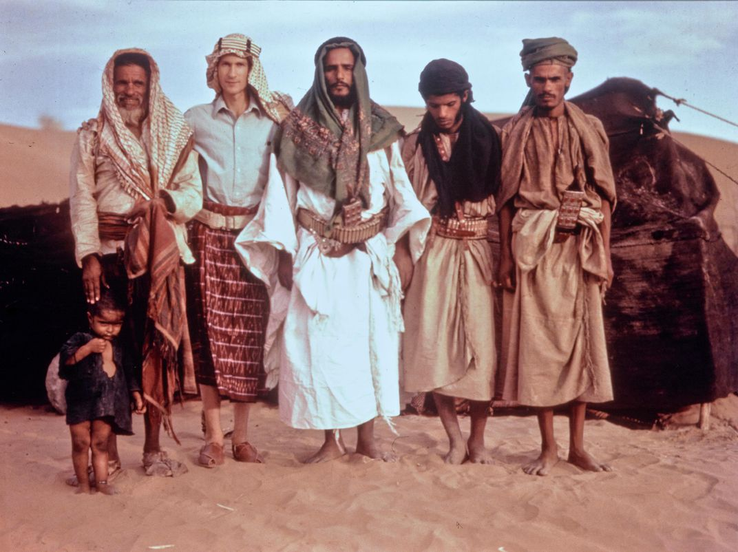 Phillips and sheikh of al-Barhi tribe