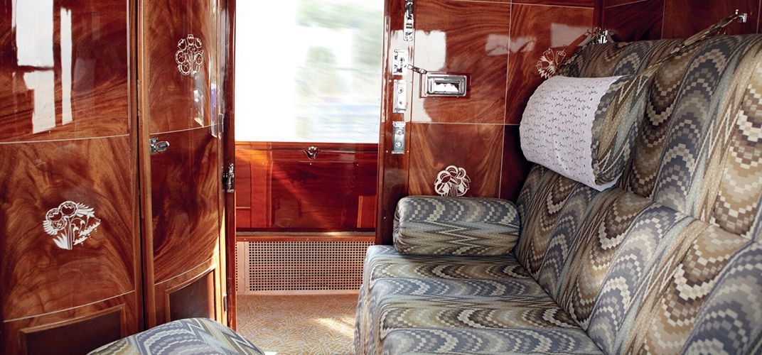 Accommodations aboard the Venice Simplon-Orient-Express