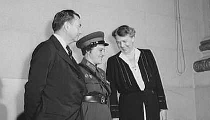 Eleanor Roosevelt and the Soviet Sniper