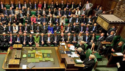 British Parliament Is Losing its Wigs