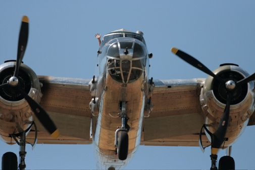 A scene from this year's Rocky Mountain Regional Fly-In.
