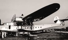 One of his early photos is of the 1937 M-156 flying boat, which Glenn Martin offered to Pan American World Airways. Instead, Aeroflot took one — the only one.