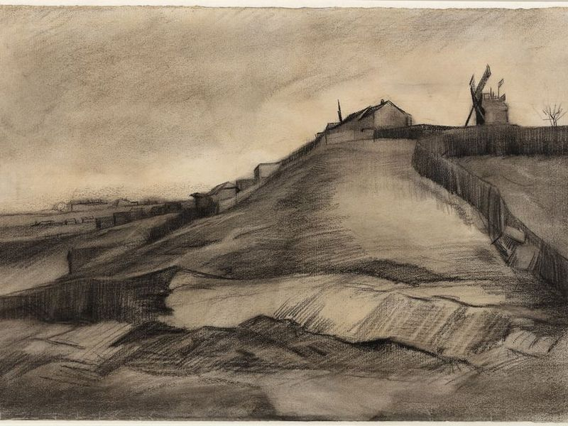 newly identified vincent van gogh drawings go on display smart