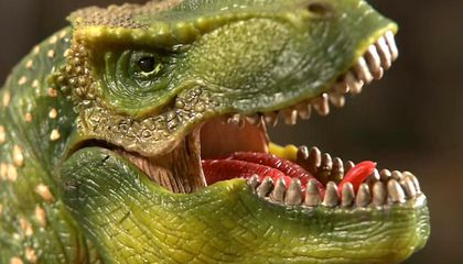 Here's How Plastic Toy Dinosaurs are Made