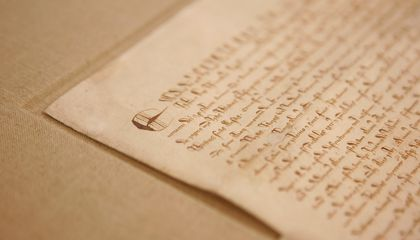 An Early Copy of the Magna Carta Was Found Forgotten in an Old Scrapbook