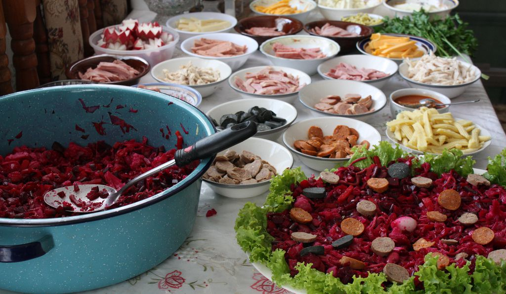 Recipes for fiambre, a traditional Dia de los Muertos dish in Guatemala, can entail more than 50 different ingredients.