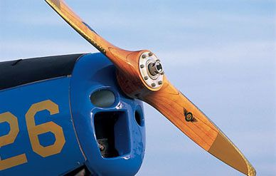 Military Propeller Airplane Wooden Handmade Models Mahogany Wood Model Aircraft Whole And Retail