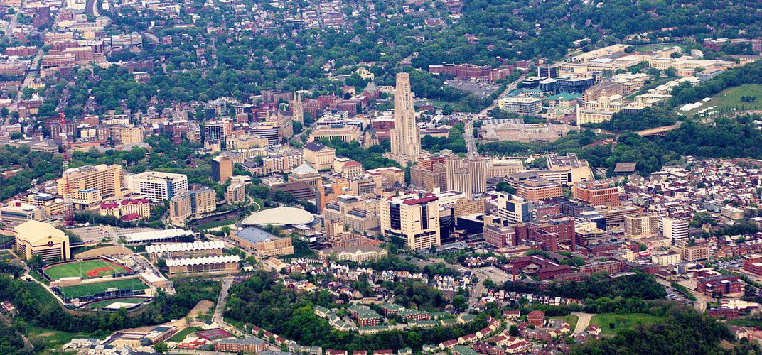 Caption: Pittsburgh's Two Post-Industrial Trajectories