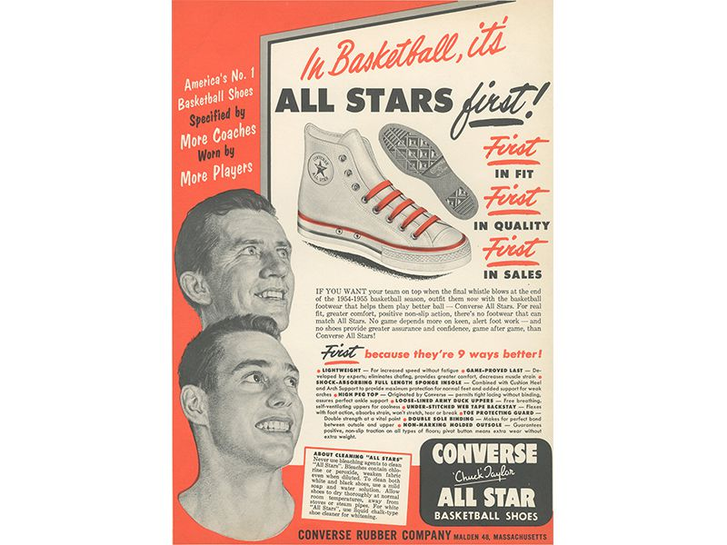 39bcc01e3a90 How Chuck Taylor Taught America How to Play Basketball