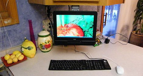As long as you're careful not to spill, the computer can get you a great culinary education.
