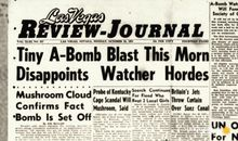 How 1950s Las Vegas sold atomic bomb tests as tourism